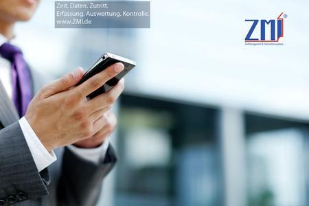 Zeiten überall erfassen, kontrollieren, auswerten - ZMI.