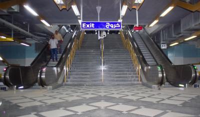 thyssenkrupp stattet U-Bahnstationen in Ägyptens Hauptstadt Kairo mit neuen Fahrtreppen aus / Bildnachweis: thyssenkrupp Elevator