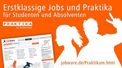 Jobware öffnet neuen Stellenmarkt für Studierende