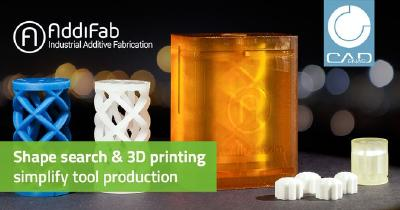 Accelerated production of prototype tools through CADENAS shape search & AddiFab 3D printing technology