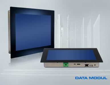 DATA MODUL stellt ultraflachen 10,1 Zoll Panel PC vor