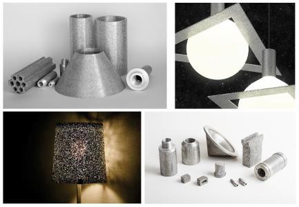 Anwendungsspezifische Filter, Konstruktionselemente und dekorative Anwendungen