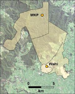 Figure 1 – Waihi District Overview