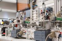 Bildungslösung für intelligente Transportsysteme und Produktionsstraßen in der Industrie 4.0 von Lucas-Nülle