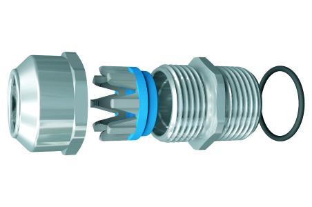 Die MARATHON Kabelverschraubung trennt die Dicht- von der Zugentlastungsfunktion. Dies führt zu einer erhöhten Zugentlastung gemäß Kategorie B (EN 62444), sowie einer permanenten und kabelschonenden Dichtigkeit