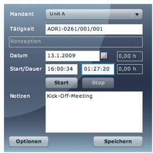 screen widget