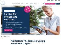Mit DMRZ.de rechnen Pflegedienste Leistungen einfach online per Datenträgeraustausch (DTA) ab. Schnell, sicher und vor allem dann, wann sie wollen.