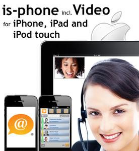 iscoord Announces is-phone Mobile iPhone Video Now Available on the App store iTunes
