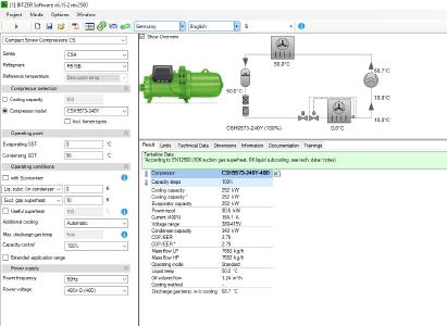 R515B is now in the BITZER software