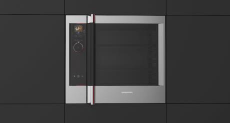Intuitive Bedienung im edlen Design: Der Gourmet-Chef-Ofen sorgt schnell und einfach für kulinarische Höhepunkte im Alltag (© Grundig Intermedia GmbH)