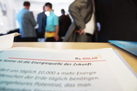 Besuch Linuo bei B5 Solar Photovoltaiksysteme