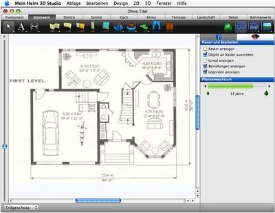 Architekt 3d avanquest ver ffentlicht haus und for Wohnungsplaner 3d