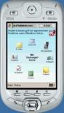 Der Startbildschirm von OLXMobileAccess