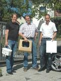 Von links: Mario Reinery, Ing. Arndt Mirtl, Reinhard Hast