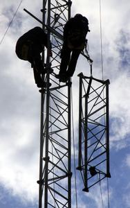 industrial climbers: vertical installation