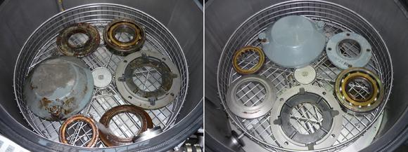 Bei der Abreinigung von Ziehseifen und schwer entfernbaren Fetten kann der hochdruckstabile und kennzeichnungsfreie Neutralreiniger Dansoclean N 7095 LT hochalkalische, ätzende Reiniger ersetzen.