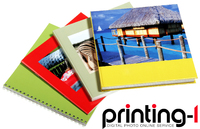 "Printing-1 Premium Photo Book spreading across 32"" wide double pages"