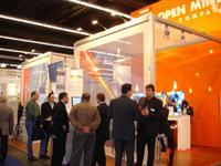 Interest in OPEN MIND Technologies was twice as high as last year