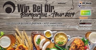HFO Telecom-Roadshow: ALL-IP-, Digital Workplace- und UCC-Vorträge PowerPoint-frei im Business Biergarten