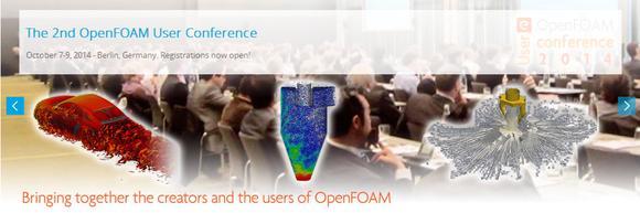 La seconde conférence utilisateurs OpenFOAM du 7 au 9 Octobre à Berlin