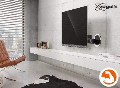 Vogel's NEXT 7356 - elektrische TV Wandhalterung bis 65 Zoll