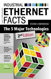 Ab sofort kostenlos verfügbar: die zweite, aktualisierte und erweiterte Auflage des System-vergleichs Industrial Ethernet Facts.