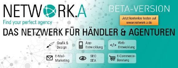 Banner Network.A / Quelle: Händlerbund