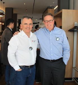 Antonio Schmidt and Kurt Weber