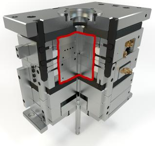 Abb1 IsoForm Werkzeug Konturbereich isoliert