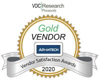 Advantech gets Gold Award from VDC Research for IoT & Embedded Technology Vendor Satisfaction