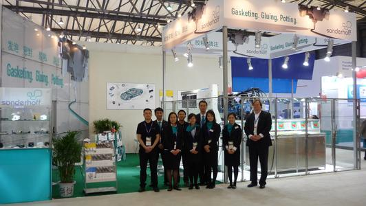 The Chinaplas Trade Fair team for Sonderhoff (Suzhou) Sealing Systems
