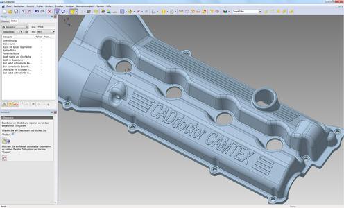 Außenhülle für 3D-Modelle mit neuem CADdoctor SX 4