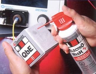 Anwendung Electro-Wash Reinigungsspray