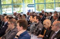 Forschungskoordinatorin Dr. Tina Hardt zieht das Publikum mit ihrem Vortrag zur Datensicherheit in ihren Bann, Bildquelle: Thorsten Sperk