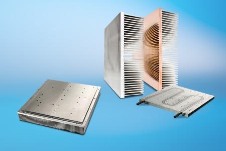 Auf der PCIM 2018 präsentiert CTX unter anderem die Hochleistungskühlkörper der Serien SuperFins und SuperPlate mit Flüssigkeitskühlung