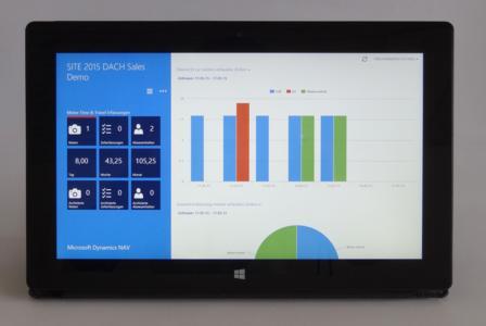 Mit SITE Time & Travel Zeiten und Spesen einfach unterwegs am Tablet erfassen und die Daten im ERP-System weiter verarbeiten – ohne Neu-Eingabe.