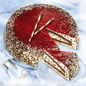 Stracciatella-Kirsch-Torte (Bild: Coppenrath & Wiese)