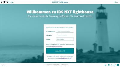 IDS NXT lighthouse: Intuitive KI-Trainingssoftware ohne Programmieren