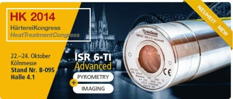LumaSense Debuts the World's First 2-Color Infrared Pyrometer with Thermal Imaging Capabilities at the Heat Treatment and MEORGA Exhibitions in Germany