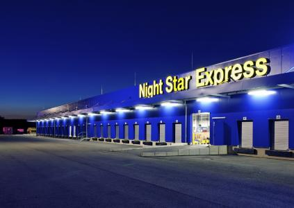 Night Star Express Hauptumschlagbetrieb Hünfeld