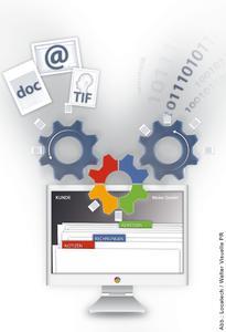 Im SharePoint-Portal von Locatech werden strukturierte Daten aus dem ERP-System mit unstrukturierten Unternehmensinformationen zusammengeführt.