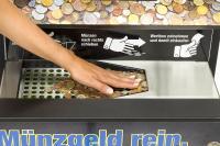Münzgeld einzahlen war noch nie so einfach – direkt im Laden vor Ort