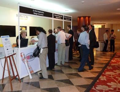 ITSC 2011 will take place within the framework of the DVS Congress and the DVS Expo in Hamburg. Last year, around 500 participants congregated in Singapore on the occasion of the specialist event for everything to do with thermal spraying, Photograph: DVS
