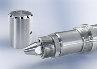 SCHLICK two-substance nozzle with internal mixing Patented SCHLICK interior mixing cap