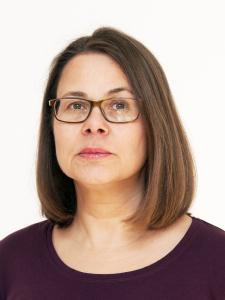 """Susanne Eybe: """"Zuhören, Inhalte strukturieren und sie in Worte fassen, das sind meine Stärken. Ich studierte Publizistik an der Ruhr Uni Bochum, arbeitete als Rhetorik- und Zeitmanagementrainerin, sammelte Berufserfahrungen als PR-Referentin in einem Verband."""""""