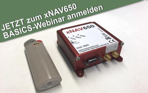 Webinar von DTC zu den Basics des INS xNAV650