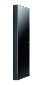 Berker R.3 Touch Sensor KNX in Glas schwarz mit Sensorfläche.