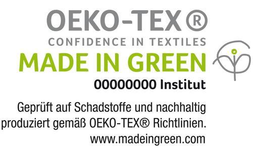 Nun hat das Unternehmen als erster Betrieb im B2C-Bereich überhaupt das Made in Green by OEKO-TEX® Label erhalten. Ausgezeichnet wurden Frottierwaren und Handtücher, die unter nachhaltigen Bedingungen hergestellt werden. © OEKO-TEX®