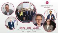 Bereits zum 12. Mal lädt die communicall GmbH Marketing- und Vertriebsexperten zum Erfahrungs- und Ideenaustausch nach Bayreuth ein.