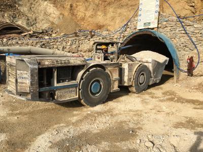 Stollenausfahrt auf der Pinargozu-Mine; Foto: Pasinex Resources